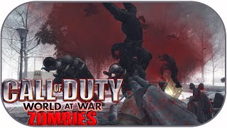 COD WAW Zombies Funny Moments: Plum Puddin, Easy Mode Challenge! (Modded Custom Map)