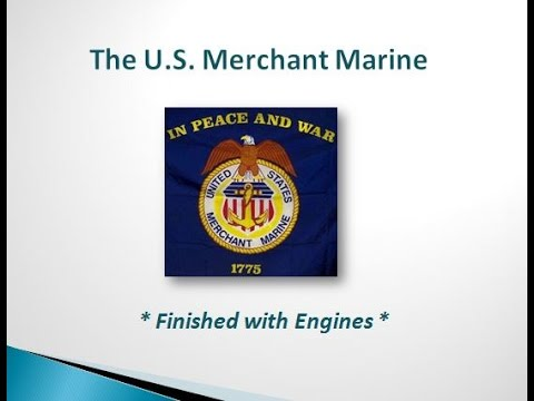 The Modern Day Merchant Mariner