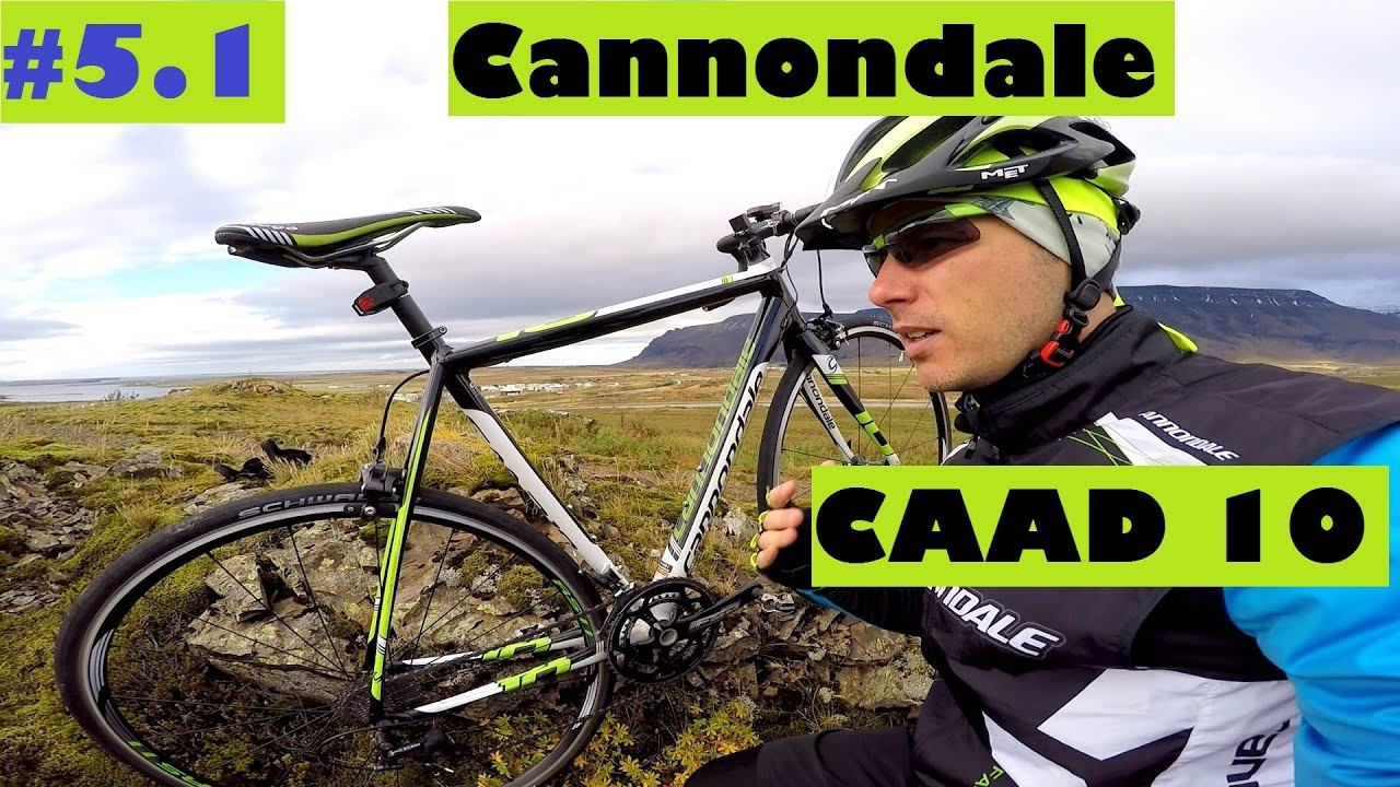 6c3dd03bbc2 Cannondale CAAD 10 - An AWESOME Alloy Racing Road Bike? Test And Review In  Iceland.