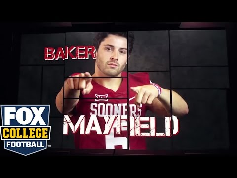 Oklahoma QB Baker Mayfield's interview with Bruce Feldman | 2016 COLLEGE FOOTBALL ON FOX