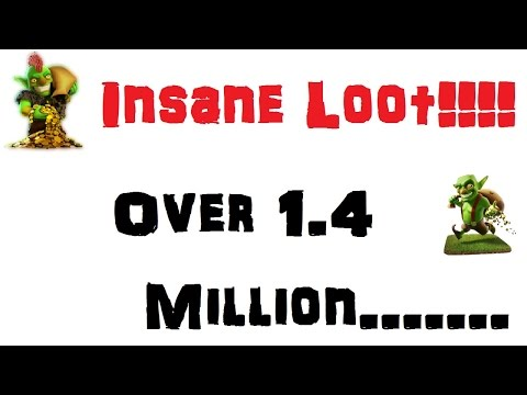 INSANE LOOT! Over 1.4 MILLION In 1 Raid! - Clash Of Clans Jackpot!