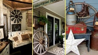 ❤DIY Rustic Farmhouse style Porch Decor Ideas | Home decor & Interior design || Flamingo mango||❤
