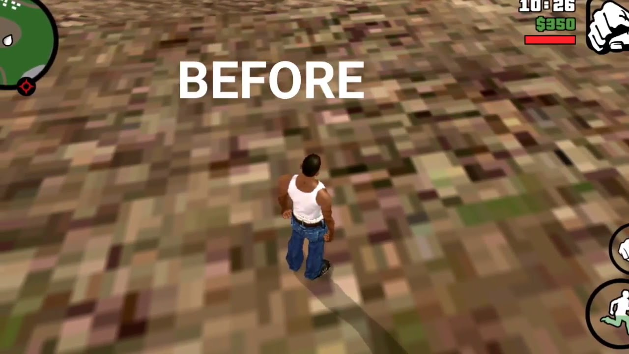 How to fix pixelated textures gta san andreas mobile android