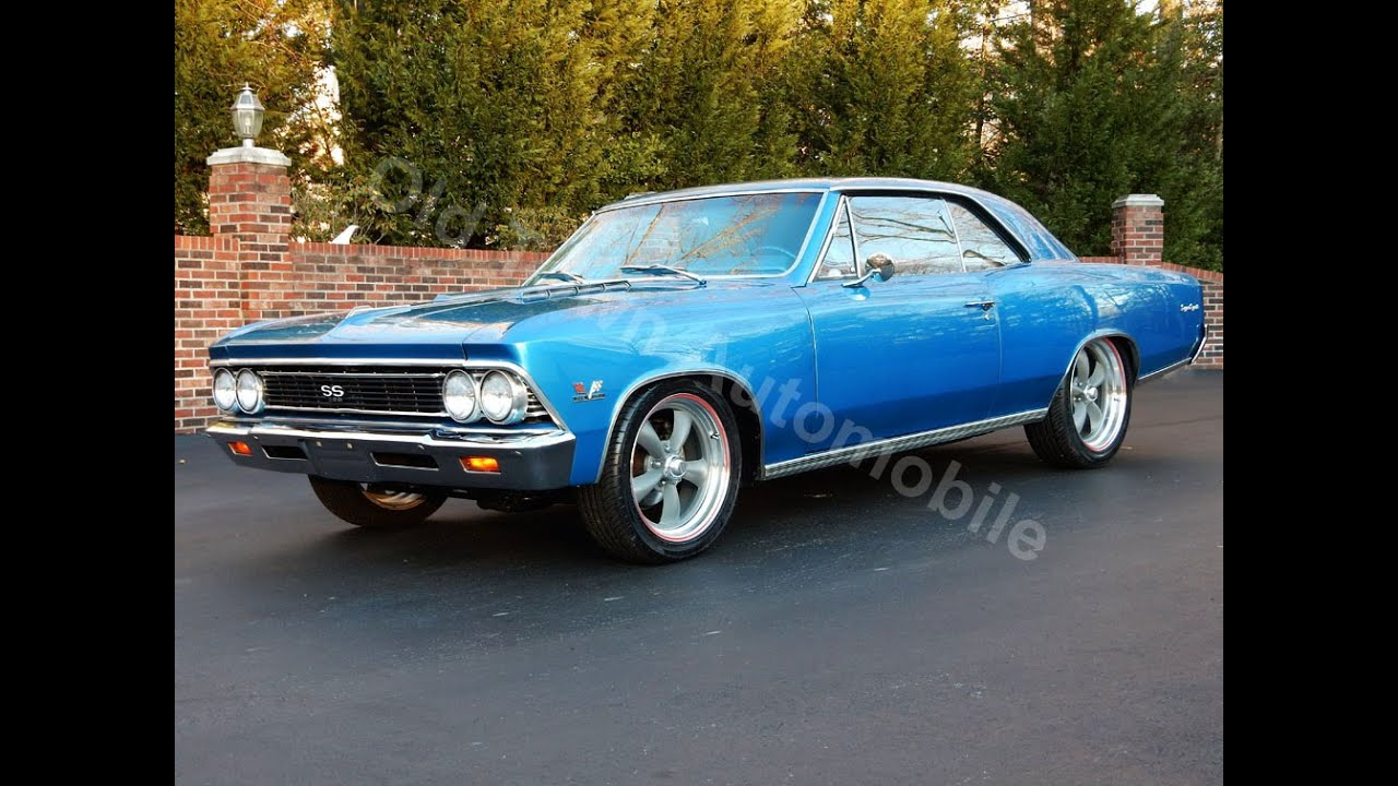 1966 Chevelle SS in Marina Blue for sale Old Town Automobile in ...