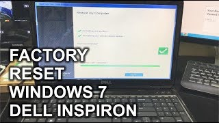 How to ║ Restore Reset a Dell Inspiron to Factory Settings ║ Windows 7