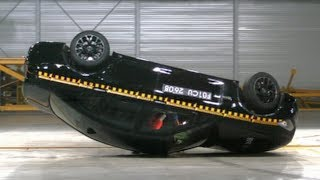 BMW 7 series Crash Test