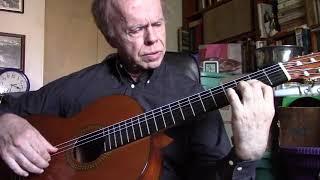 Skye Boat - Scottish Melody on Guitar