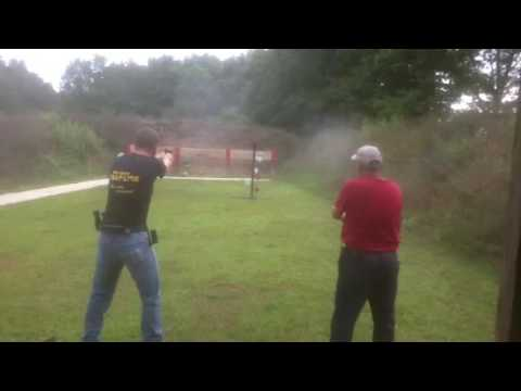 Steel Plate Shoot Demo at Flat River Conservation Club
