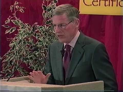 Harvey C. Mansfield on manliness, UNLV Great Works Academic Certificate Program