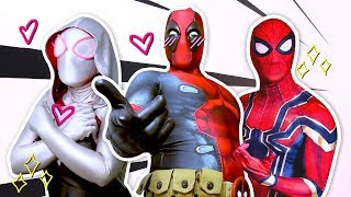 Spider-Man and Deadpool In Real Life (A Day In The Life of Spider-Man ) - Ep. 17