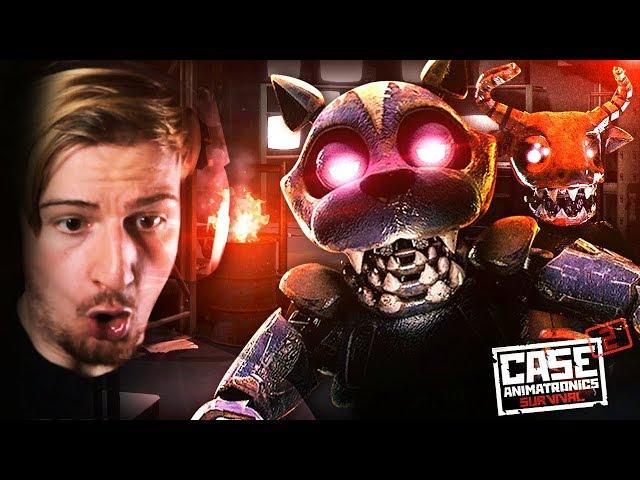 THE ANIMATRONICS BROKE OUT. || CASE 2: Animatronics (STORY MODE) Awesome Game!