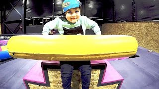 Trip to the Trampoline Park | Jumping Games by TimKo Kid
