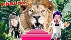 Roblox: AUS DSCHUNGEL ENTKOMMEN - Nina & Kaan werden vom Löwen gefressen | Escape Jungle Obby