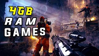 TOP 10 GAMES 4GB RAM PC 2018 - [HIGH FPS]