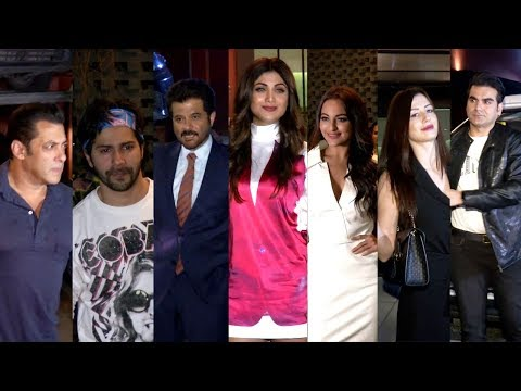 Salman Khan And Many Celebs Attended Aayush Sharma Birthday
