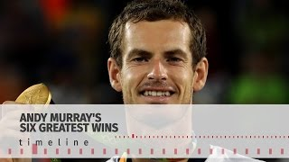 Timeline Of Andy Murray's Greatest Tennis Victories - First Player To Win Two Singles Gold Medals