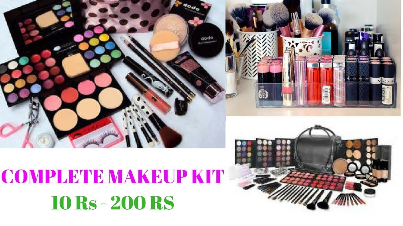 COMPLETE BEGINNERS MAKEUP KIT Under Rs. 200