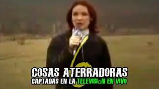6 COSAS ATERRADORAS CAPTADAS EN LA TELEVISIÓN EN VIVO