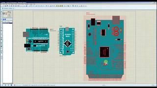 Установка моделей Arduino в Proteus