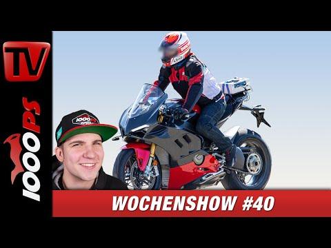 Ducati V4 S Superleggera Erlkönig, KTM 490 Modelle und vieles Mehr - 1000PS Wochenshow #40