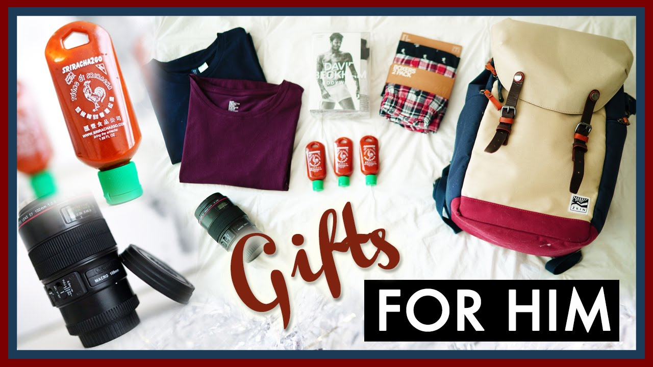 gift ideas for him ilikeweylie youtube