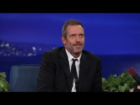 Hugh Laurie Interview Part 01 - Conan on TBS