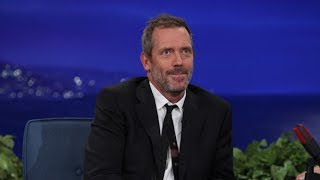 Hugh Laurie Interview Part 01 - Conan on TBS