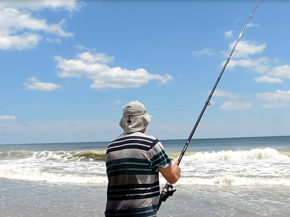 Saltwater fishing from the north carolina shore youtube for South carolina saltwater fishing regulations