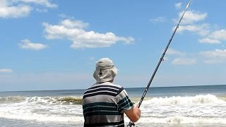 Saltwater fishing from the North Carolina shore