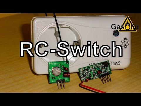 RC-Switch - Mit Dem Arduino Steckdosen Schalten [German/Deutsch]