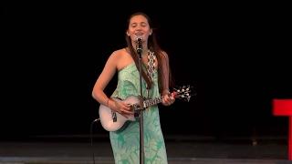 Sonidos de Hawaii | Taimane Gardner | TEDxPuraVidaJoven