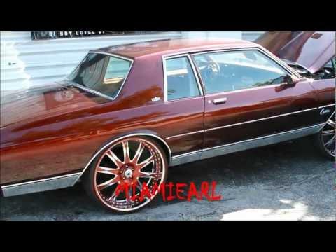 "Arctic Customs- Rootbeer 2 Door Box Chevy on 26"" Asanti's"