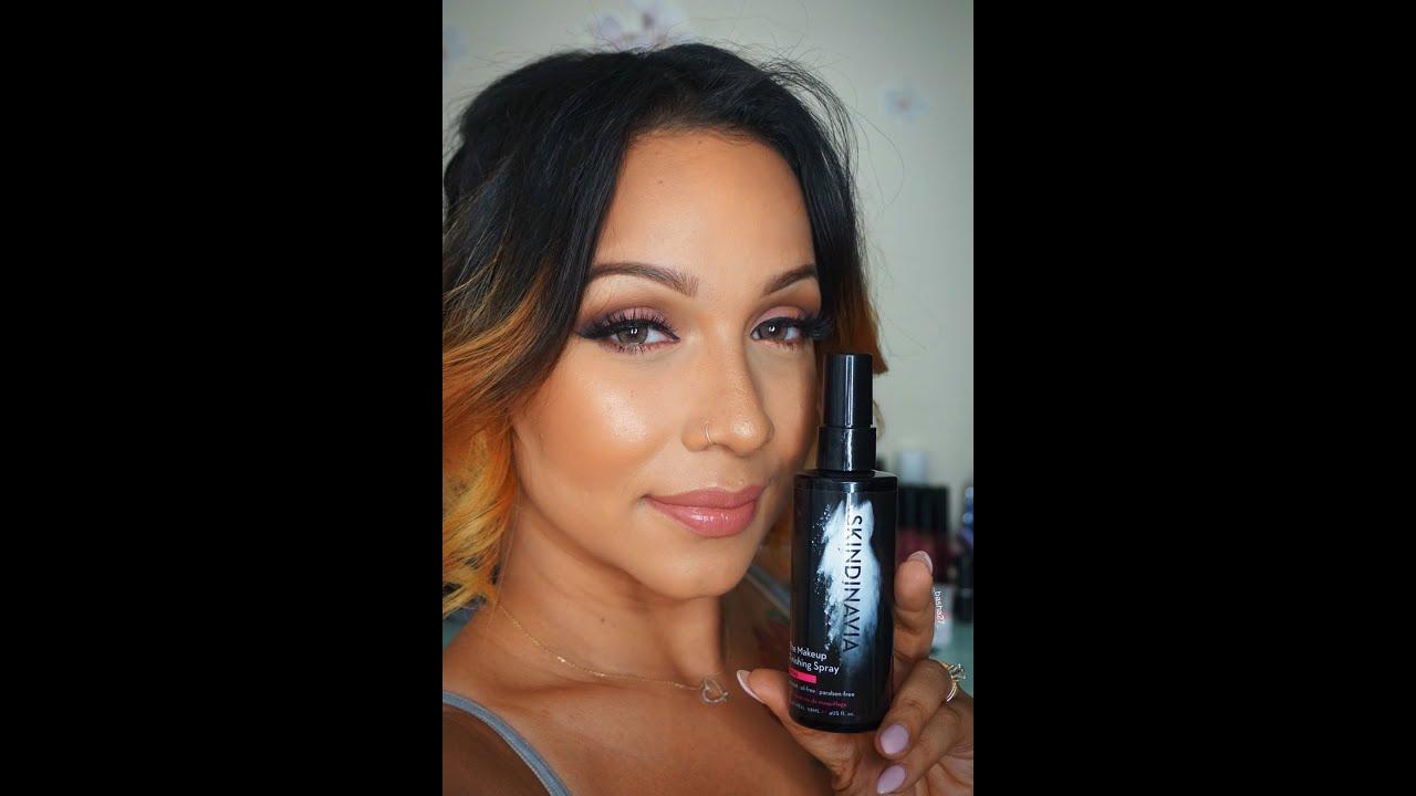 Review on Skindinavia Bridal Setting Spray - YouTube