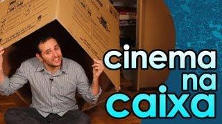 Como fazer CINEMA NA CAIXA | câmara escura - EXPERIÊNCIA de FÍSICA