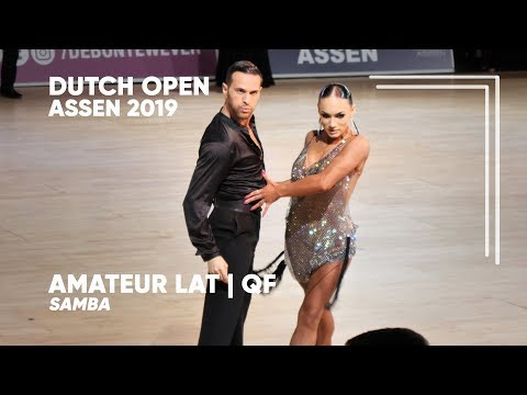Salvatore Sinardi - Viktoria Kharchenko | 2019 Dutch Open | Assen | Amateur LAT - QF S