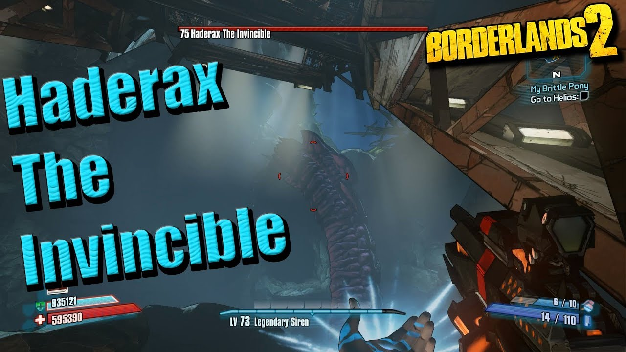 Borderlands 2 - New Raid Boss - Haderax the Invincible