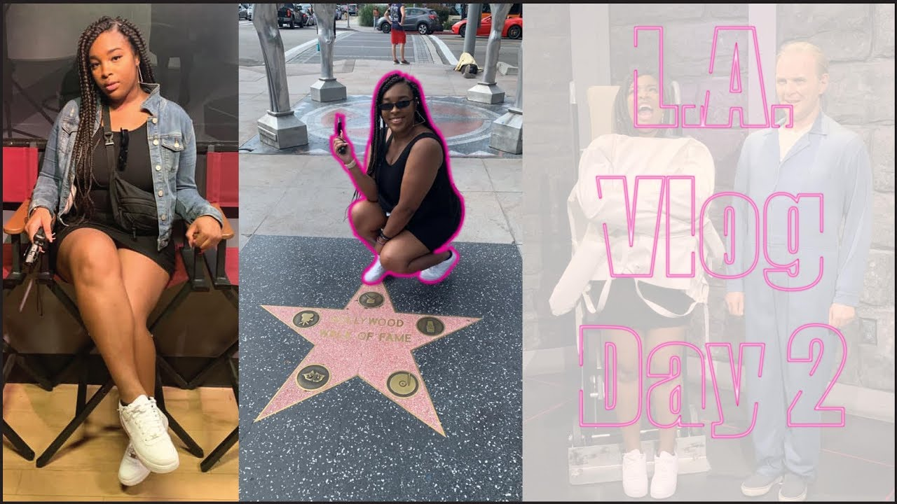 Went too see HOLLYWOOD WALK OF STARS, JASON DERULO? and more   L A vlog day  2