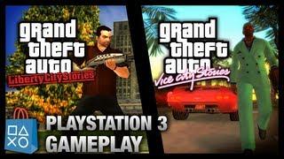 GTA Liberty City Stories & Vice City Stories - PlayStation 3 Gameplay (PSN)