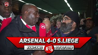 Arsenal 4-0 Standard Liege | We Should Be Playing Like This In The Premier League!!