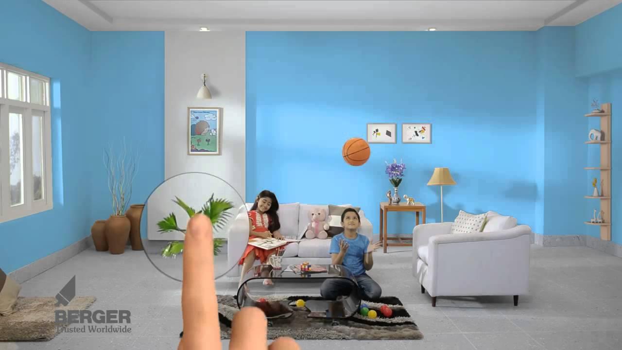 Berger Paint App Tvc Youtube