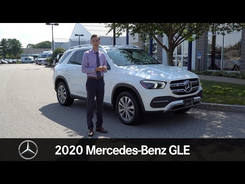 CERTIFIED PRE OWNED 2020 Mercedes-Benz GLE 350 video tour with Spencer