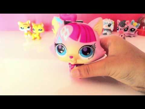 LPS SINGING CAT TOY REVIEW CUSTOMIZED !