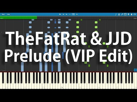 TheFatRat & JJD - Prelude (VIP Edit) | Synthesia Piano Cover