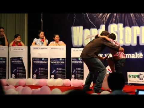 Đỗ Nhật Nam, người giành giải Nhất cuộc thi hùng biện Wordstorm