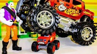 Вспыш и чудо машинки новые серии ДЖОКЕР раздавил игрушки Вспыш Развивающие мультики про машинки 2017