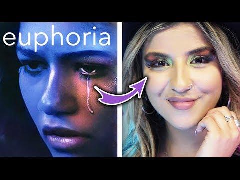 Makeup Artist Recreates Euphoria-Inspired Makeup Looks thumbnail