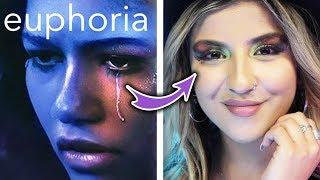 Makeup Artist Recreates Euphoria-Inspired Makeup Looks