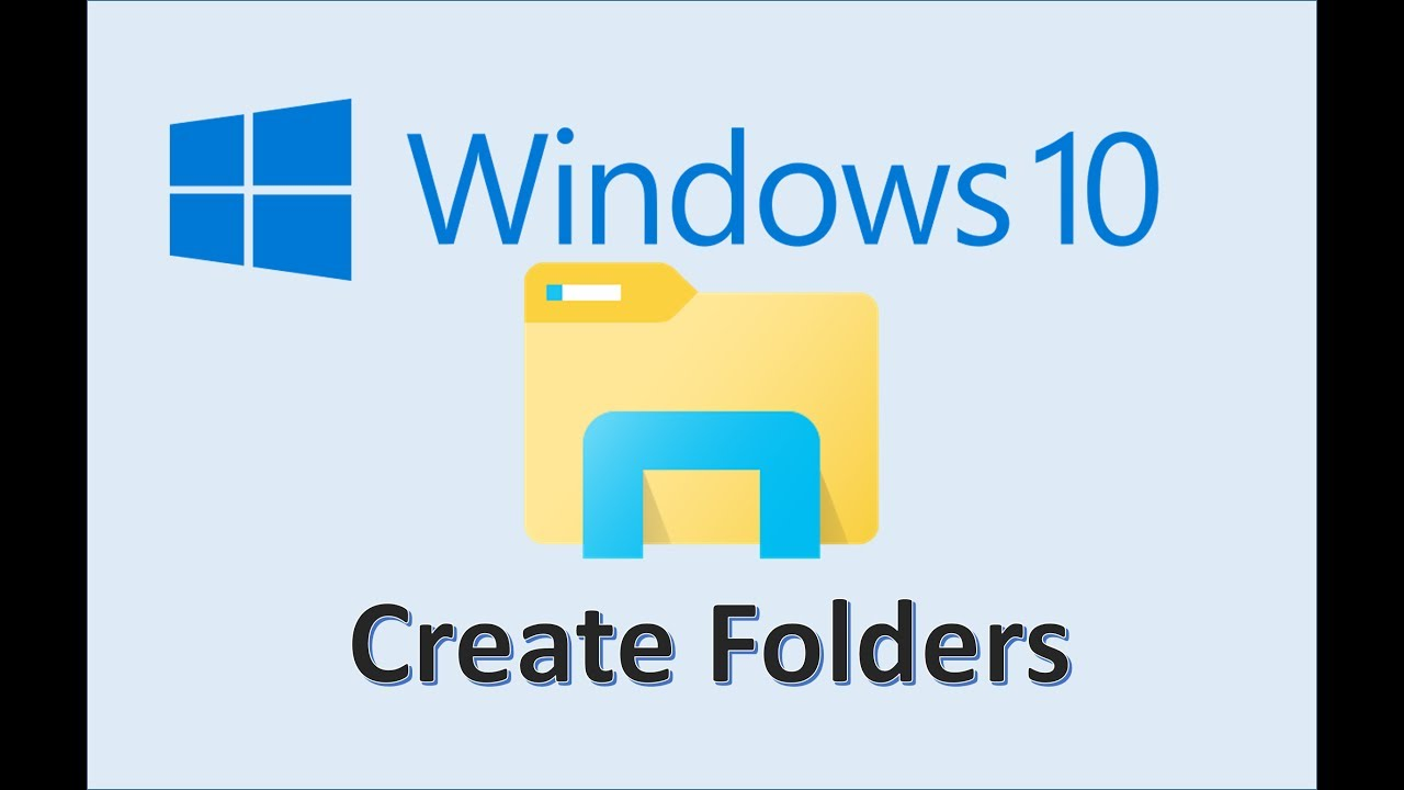 Windows 10 Create Folders How To Make A New Folder And