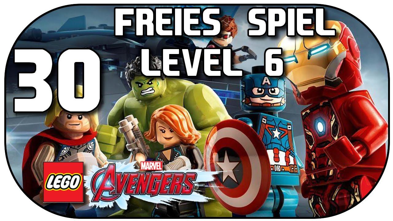 Let's Play LEGO Marvel's Avengers #30 Freies Spiel Level 6 ...
