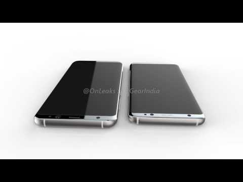 Samsung Galaxy S8, Galaxy S8 Plus Renders Leaked